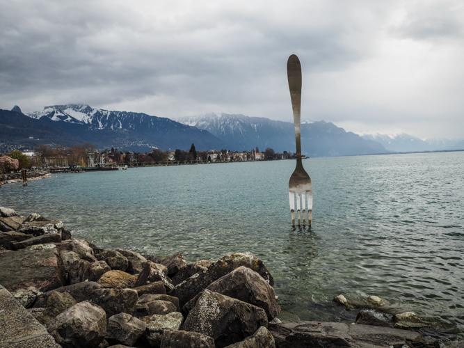 Suisse lac léman Vevey