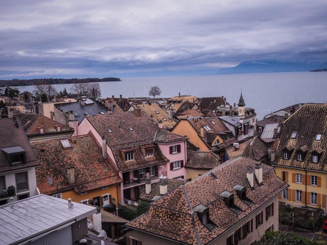 Suisse lac léman