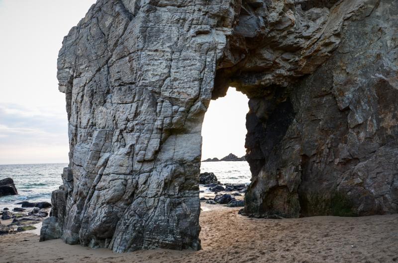 Quiberon côte sauvage Bretagne