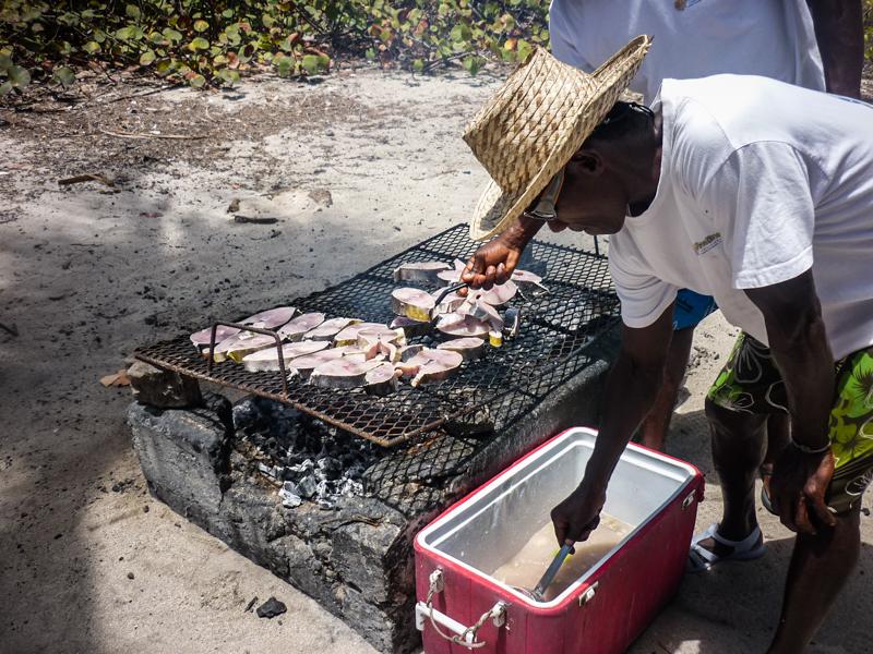 dorade-barbecue