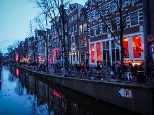 quartier rouge Amsterdam