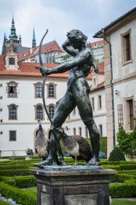 Prague château