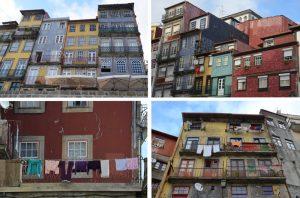 Porto facade ribeira