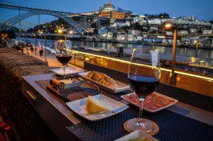 Porto wine quay bar
