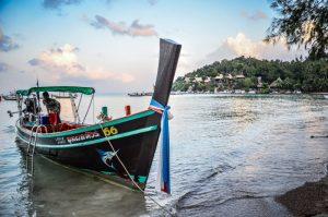 Koh Tao bateau