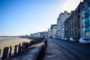 St Malo plage su Sillon
