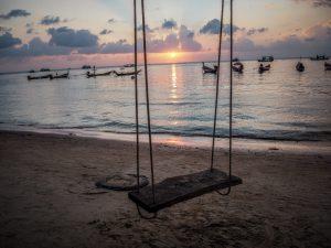 Koh Tao coucher de soleil