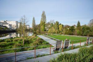Rennes et le jardin de la confluence bretagne