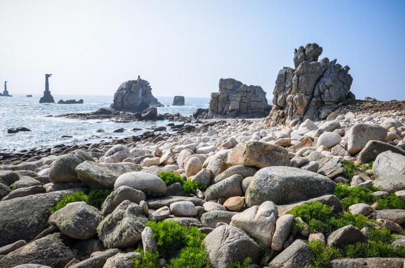 île bretonne rocher
