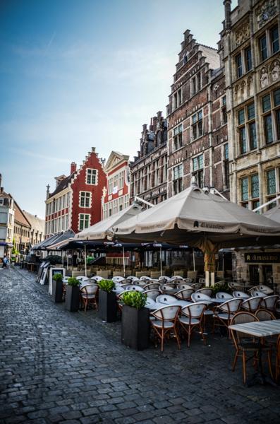 restaurant café belgique