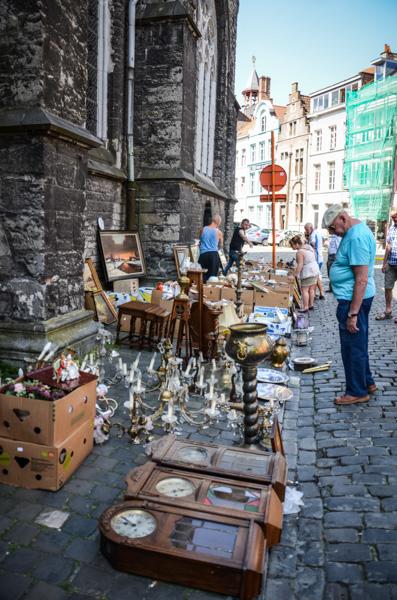 marché aux puces belgique