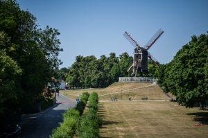 Bruges Belgique blog voyage Trotteurs Addict Saint Anne moulin à vent