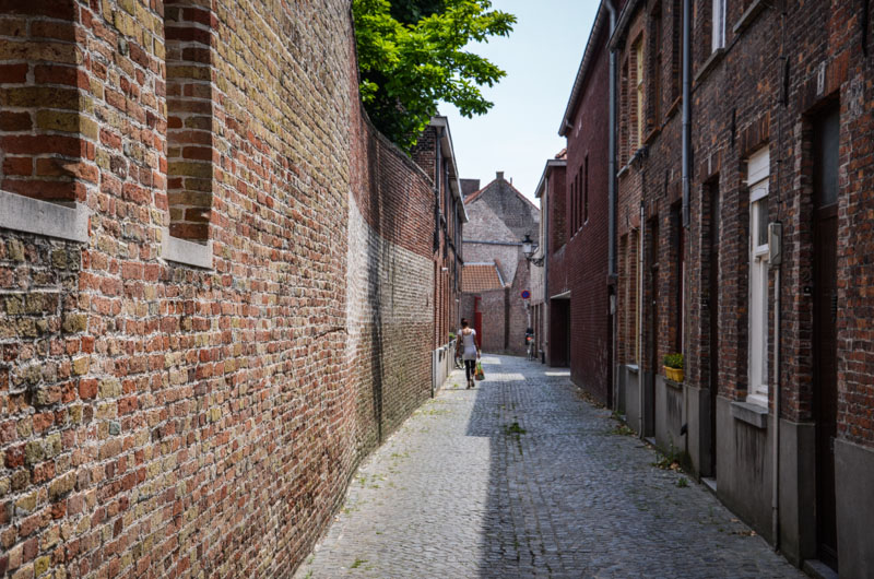 Bruges ruelle