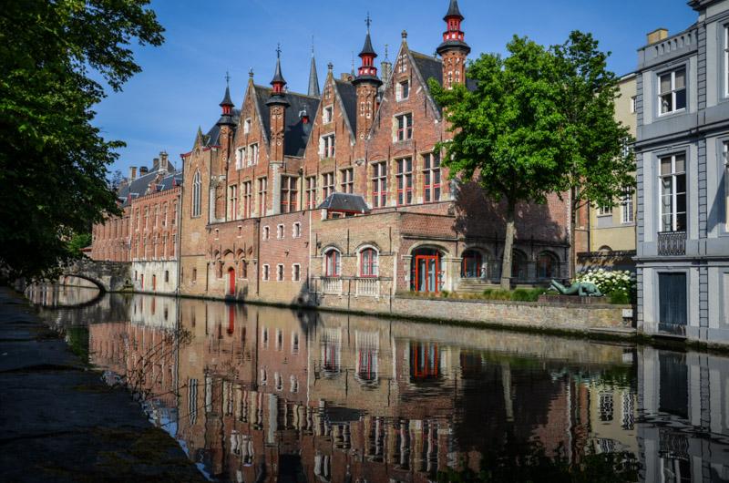 Bruges Belgique blog voyage Trotteurs Addict canaux