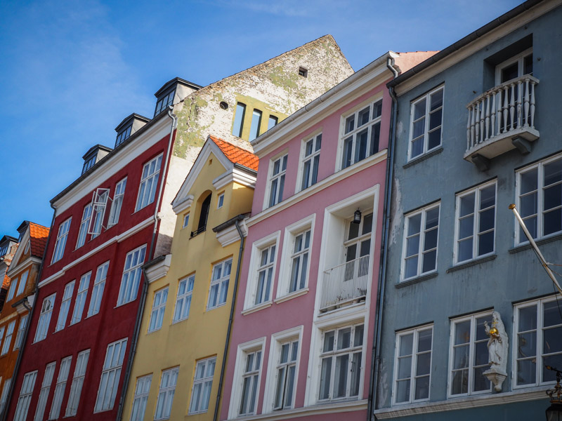 Copenhague Nyhavn trotteurs addict blog voyage