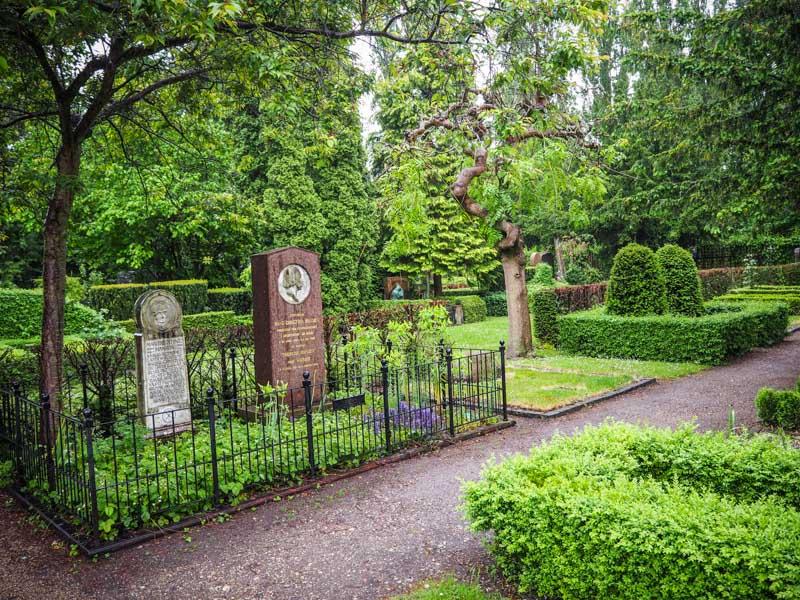 Copenhague Danemark cimetière Assistens Norrebro trotteurs addict blog voyage
