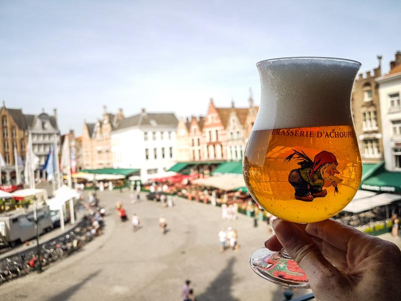Bruges belgique adresse gourmande bière belge duvelorium