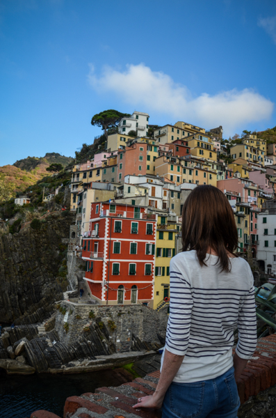 Riomaggiore Cinque Terre Italie vue