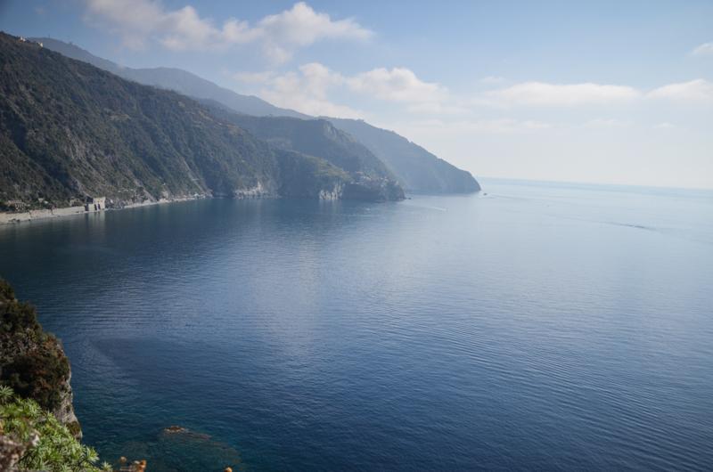 corniglia vue sentier italie cinque terre