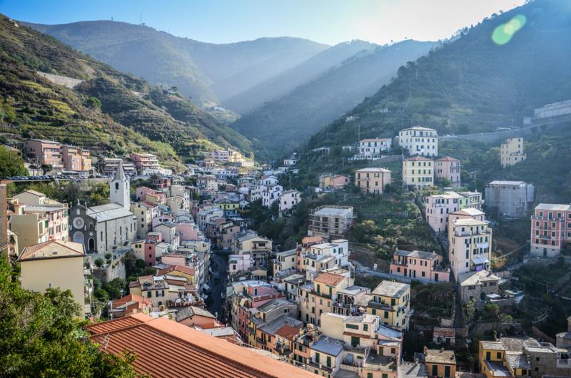 riomaggiore Cinque Terre Italie village