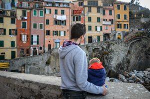 riomaggiore italie bébé voyage