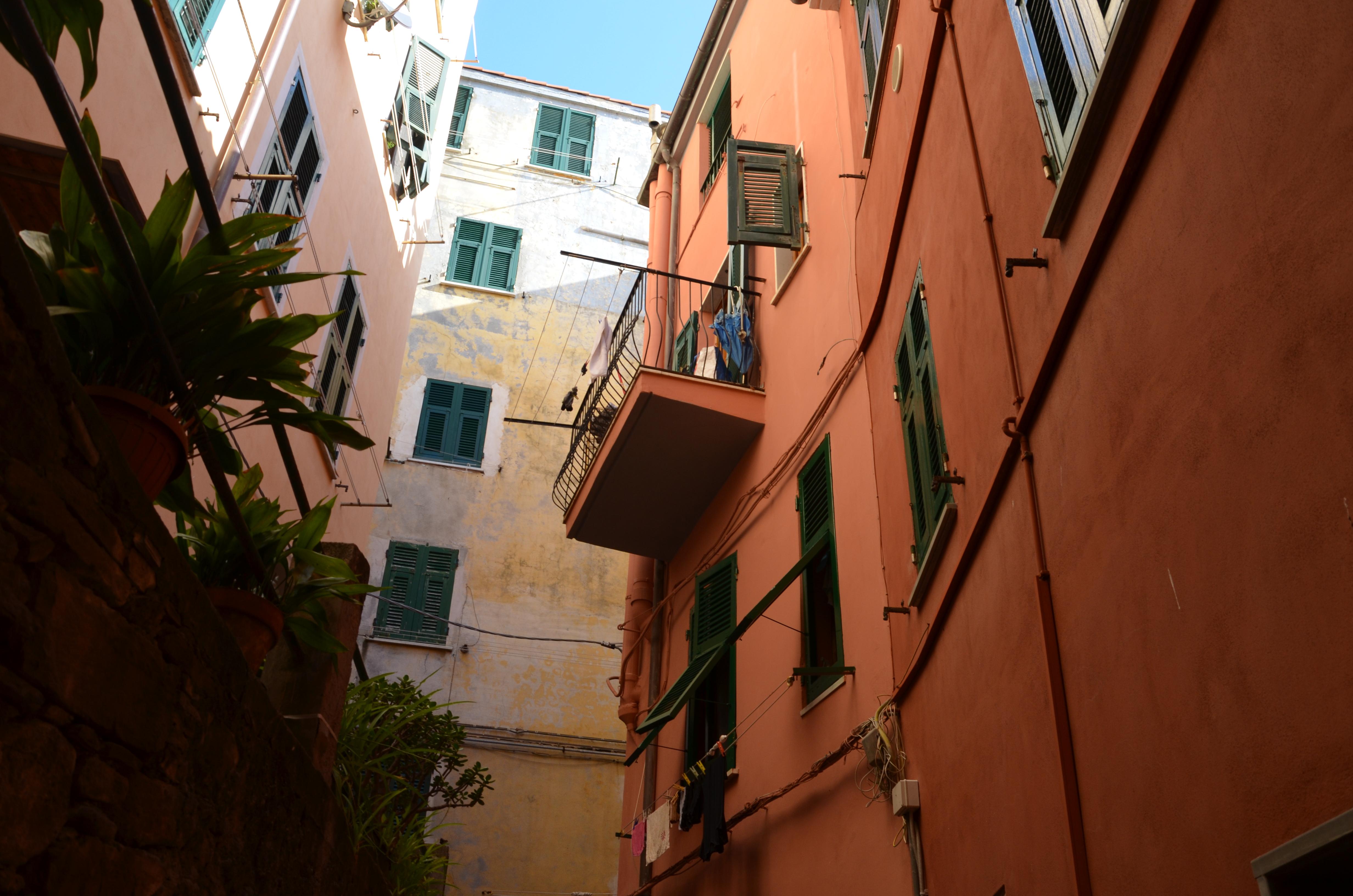 riomaggiore italie cinque terre ruelles