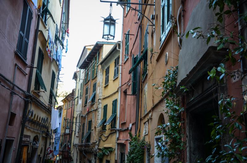 ruelles portovenere italie blog voyage