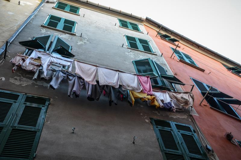 village portovenere italie facades voyage