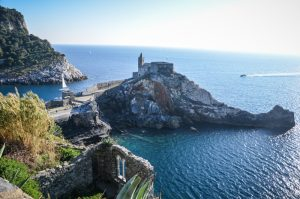 vue portovenere italie eglise san pietro blog voyage