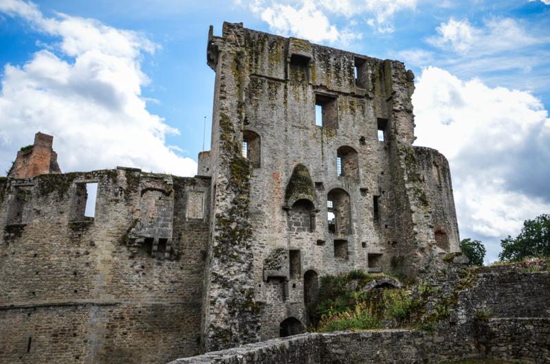 ruine chateau clisson