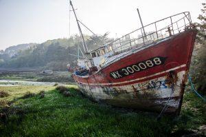 Plougasnou bateau