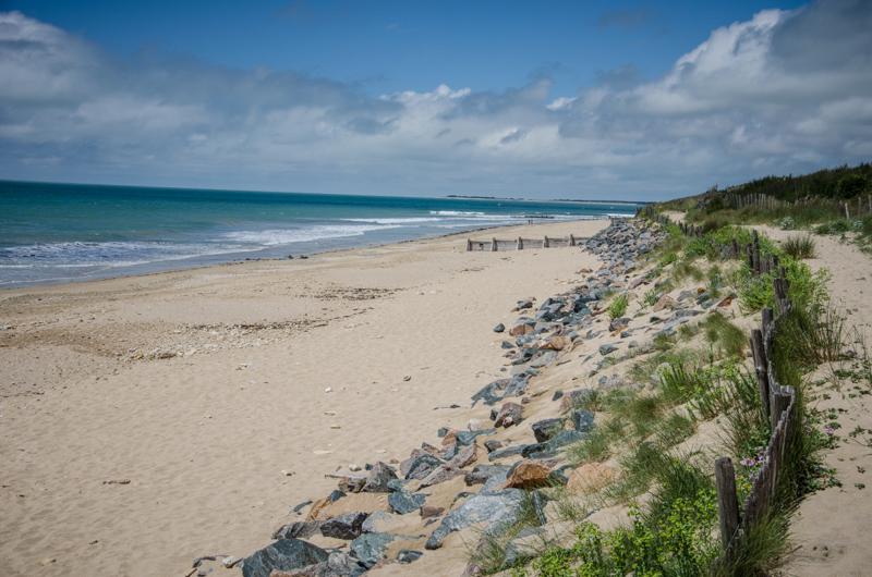 plage île de ré charente