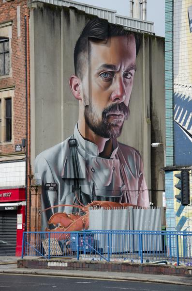 street art bâtiment belfast