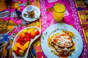 petit dejeuner mexique