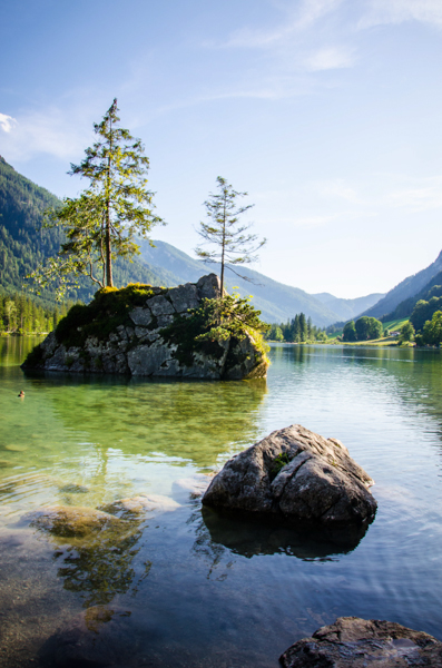 Hintersee baviere lac