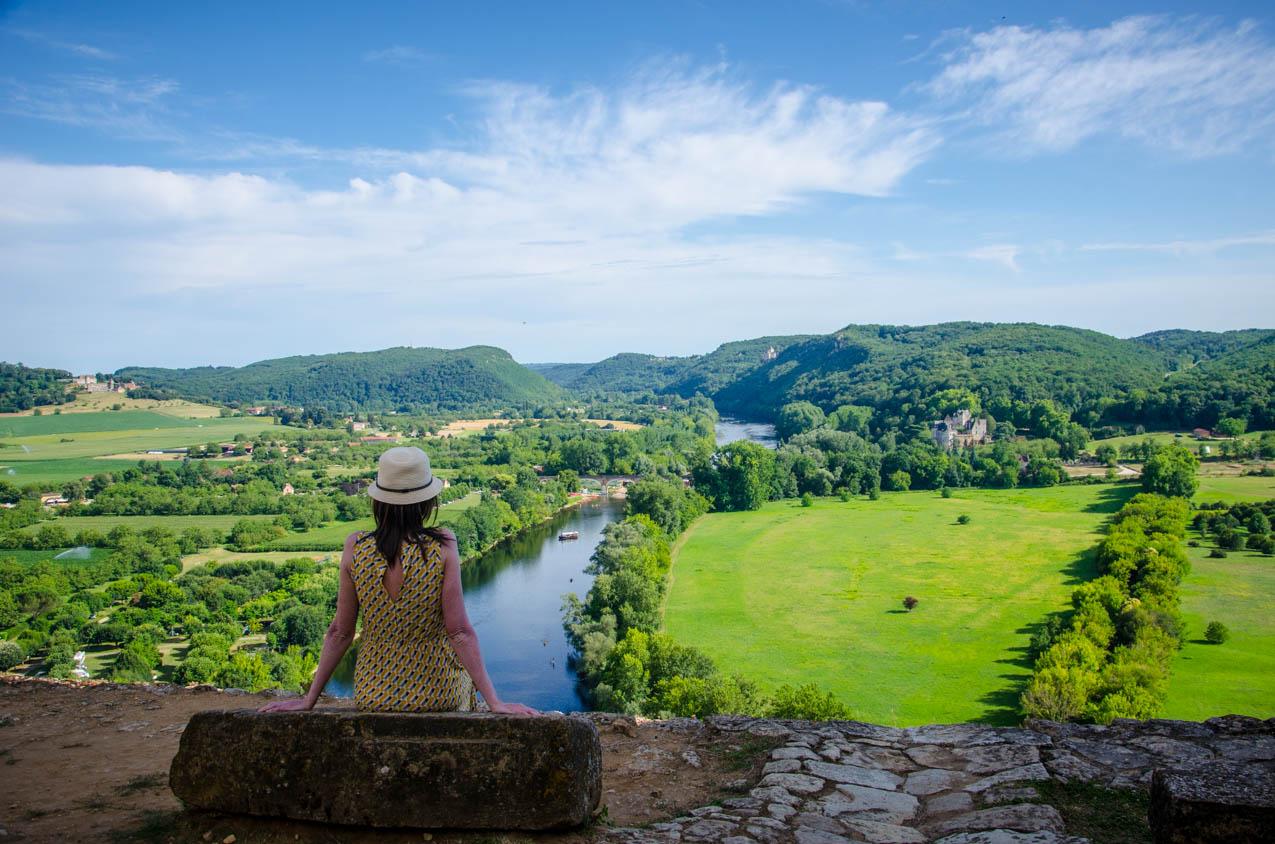 vue du chateau beynac cazenac