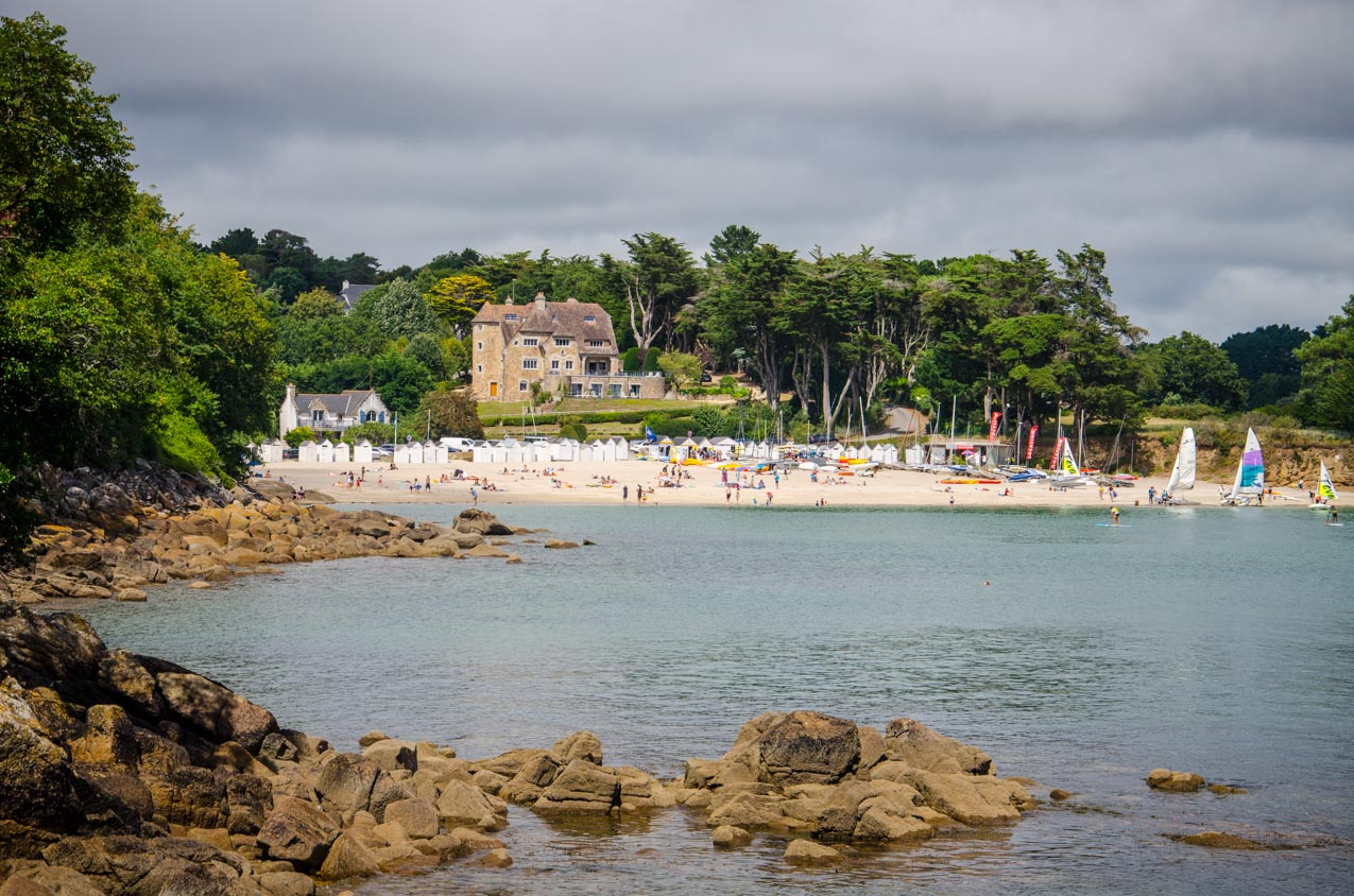 port manec'h plage