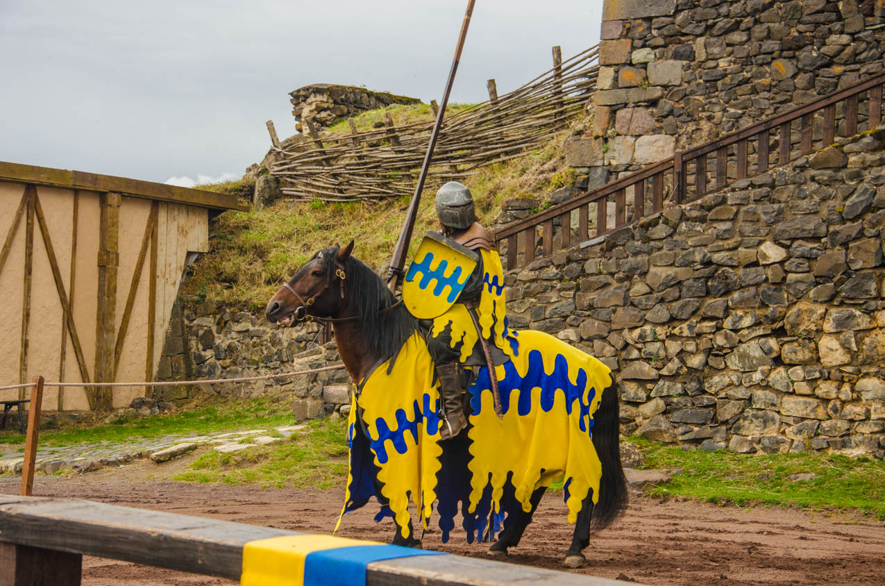 defi chevalier chateau murol