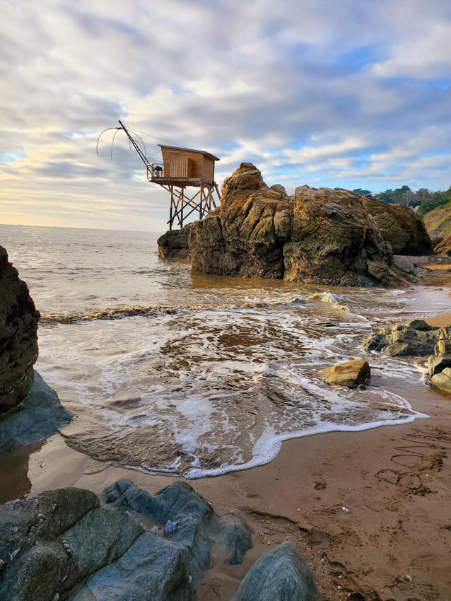 cabane pecheur plage